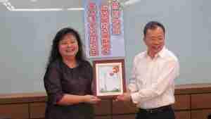 廣州市副市長陳斌來訪